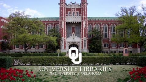 Thumbnail for entry OU Libraries Introduction - Social Work