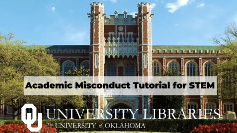 Thumbnail for entry Academic Misconduct Tutorial: Quiz 3 Video