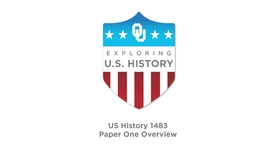 Thumbnail for entry US History 1483 - Paper One Overview, Paul Gilje.2013