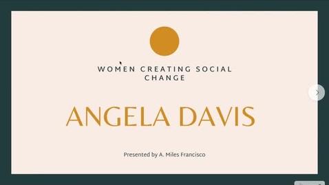 Thumbnail for entry Angela Davis pt. 1