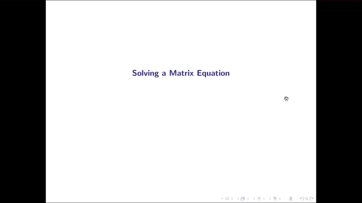 Thumbnail for channel Linear Algebra with Dr. Maddox