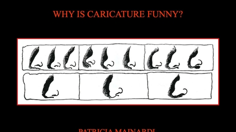 Thumbnail for entry Patricia Mainardi: Why Is Caricature Funny?