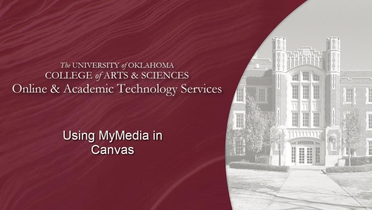 MyMedia & Canvas