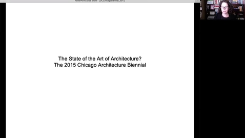 Thumbnail for entry Chicago_2015_Biennial