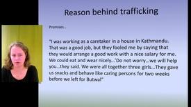 Katarina Swahnberg - Trafficking