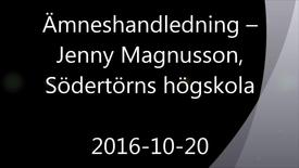 Miniatyrbild för inlägg Ämneshandledning - Handledning av självständiga arbeten (konferens) 2016-10-20