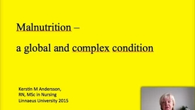 Thumbnail for entry Malnutrition Global Health