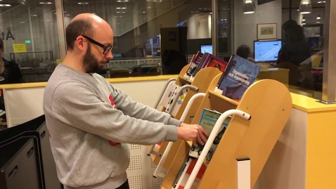Mannequin Challenge at the University Library