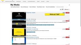 Thumbnail for entry Gör film unlisted -steg för steg