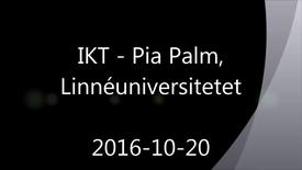 Miniatyrbild för inlägg IKT - Handledning av självständiga arbeten (konferens) 2016-10-20