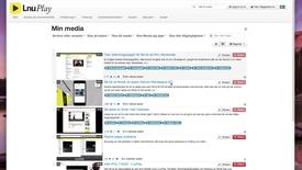 Thumbnail for entry Redigering i LnuPlay -vad du kan göra