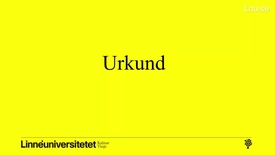 Thumbnail for entry Introduktion Urkund