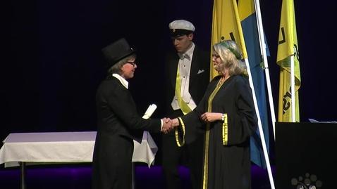Lena Andersson promoveras till hedersdoktor