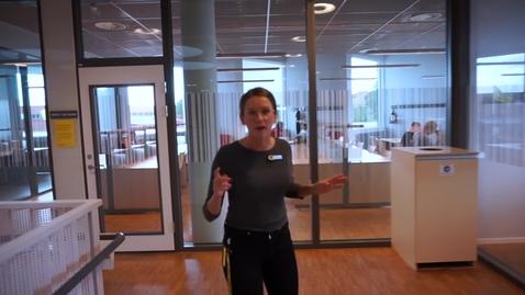 Library run at the University Library in Växjö
