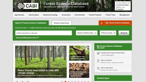 Forest Science