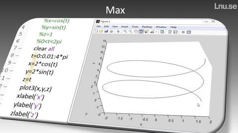 Hur man kan använda funktionen max i Matlab