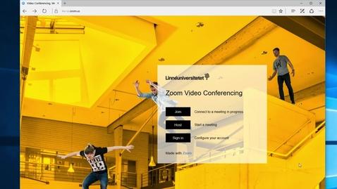 Kom i gång med Zoom / Get started with Zoom