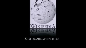 Thumbnail for entry Källkritisk träning med Wikipedia som examinationsform