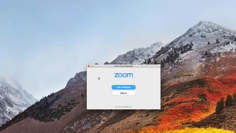 Skapa snabbt möte i Zoom / Start quick meeting in Zoom