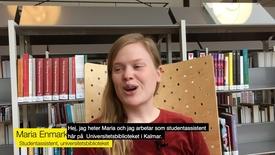 Miniatyrbild för inlägg Bli en av universitetsbibliotekets studentassistenter