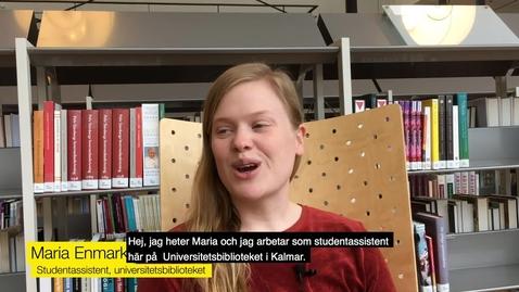 Bli en av universitetsbibliotekets studentassistenter