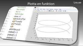 Thumbnail for entry Plotta en funktion i matlab