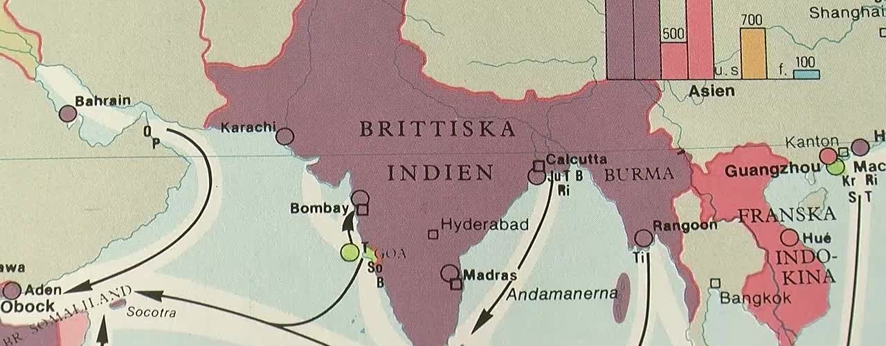 Britternas kolonialgränser skapar än idag konflikter i Indien