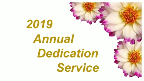 2019 Body Donation Memorial Ceremony