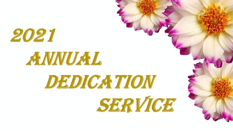 Thumbnail for entry 2021 Annual Body Donation Memorial Service