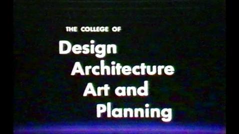Thumbnail for entry 1985-10-25 DAAP Slide Presentation