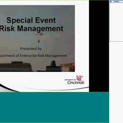 Thumbnail for channel Enterprise Risk Management