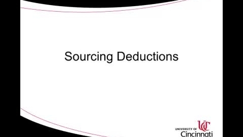 Thumbnail for entry ACCT8036 Lecture 2-4 Sourcing Deductions