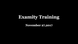 "Thumbnail for entry Examity ""Train the Trainer"" - November 27, 2017"