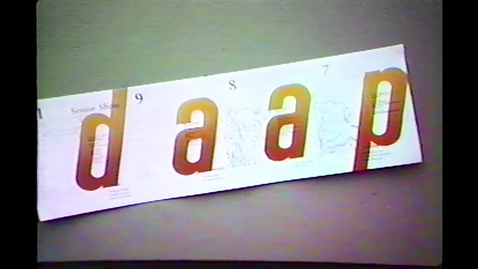 Thumbnail for entry 1987-09 DAAP Slide Presentation