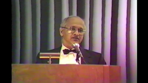 Thumbnail for entry 1987-01-15 Opening of Computer Graphics Center Remarks by- Pres J Steger, Dean J Chatterjee, Harris Corp
