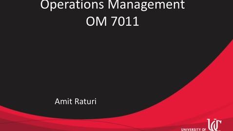 Thumbnail for entry OM 7011Raturi Module 1-6