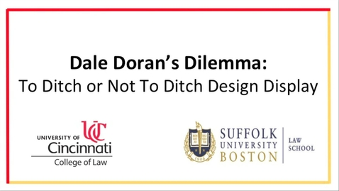Dale Doran's Dilemma: To Ditch or Not To Ditch Design Display