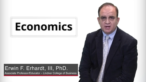Thumbnail for entry Program Presentation - Economics