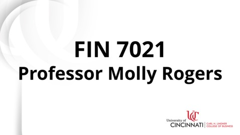 Thumbnail for entry FIN 7022 Module 1 Introduction