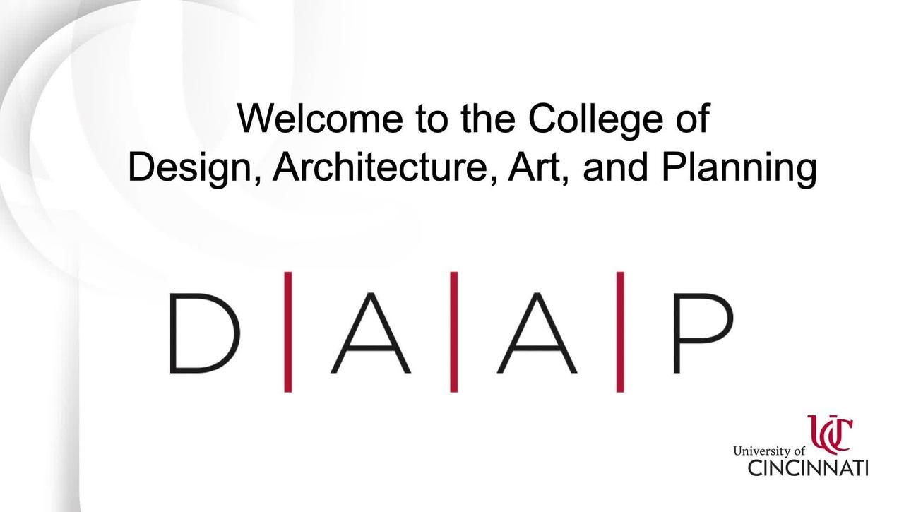 UC DAAP Virtual Tour