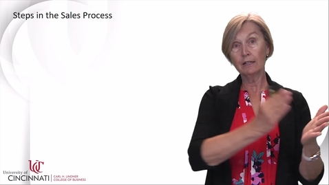Thumbnail for entry MKTG2080 Module 14 Personal Selling and Sales Managment - Jane Sojka (Part 2)