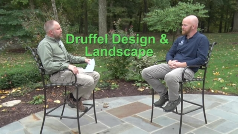 Thumbnail for entry Druffel Design and Landscaping Interview with Brandon Druffel