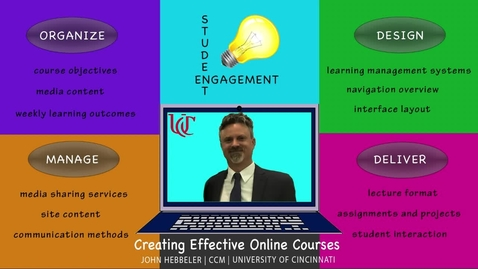Thumbnail for entry Creating Effective Online Courses