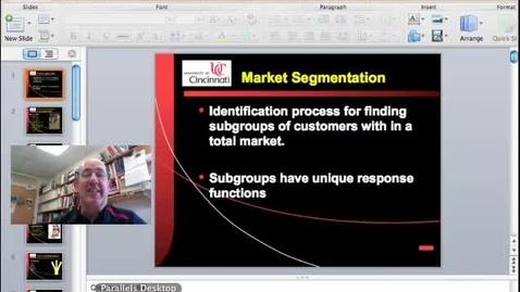 Thumbnail for entry Segmentation