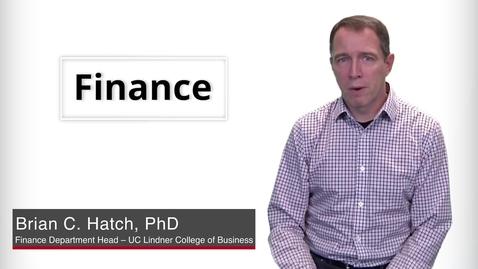 Thumbnail for entry Program Presentation  - Finance