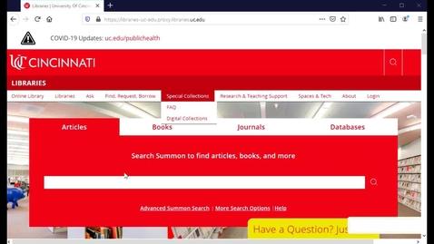 Thumbnail for entry Accessing Safari Books Online