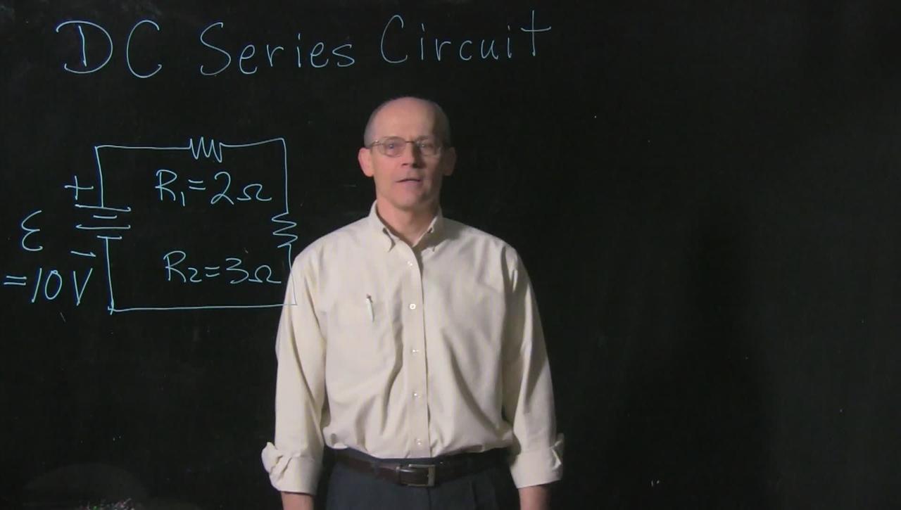 Professor Church, UC Clermont College, DC Series Circuit