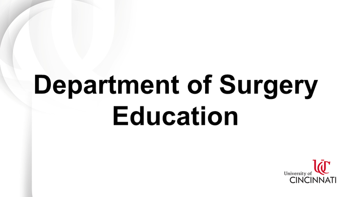 Thumbnail for channel Surgical Education