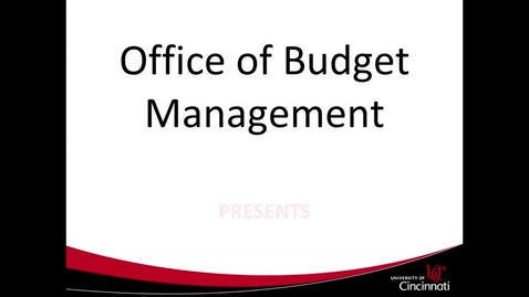 Thumbnail for entry PBF - How to Create and Search for Budget Forms