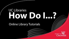 Thumbnail for entry Basics of Academic Search Complete at UC Libraries